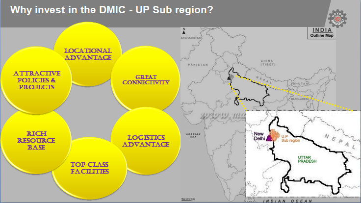 Investing in the DMIC-UP Sub-Region