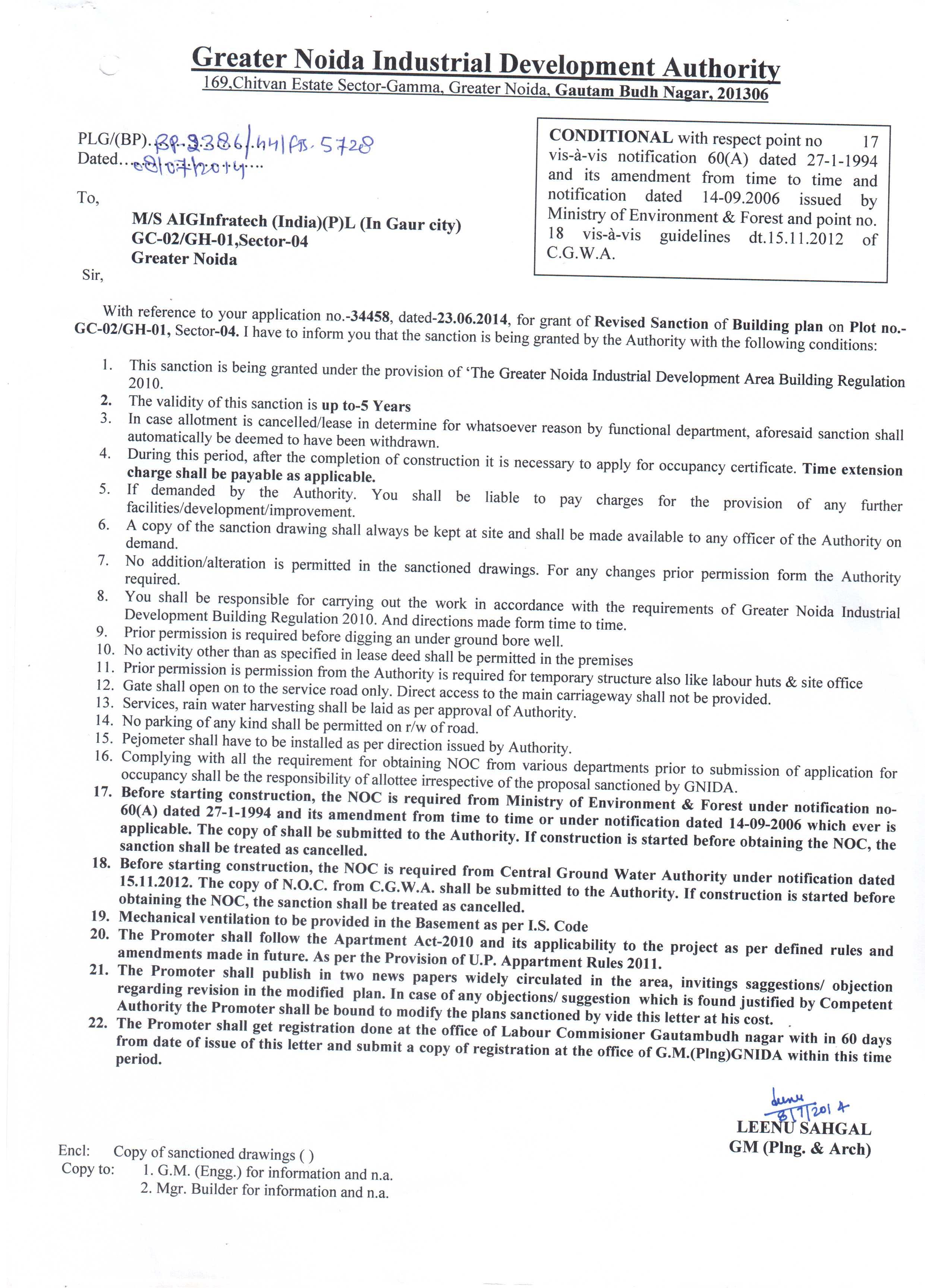 Gaur City Gc 2 Gh 01 Sec 4 Greater Noida