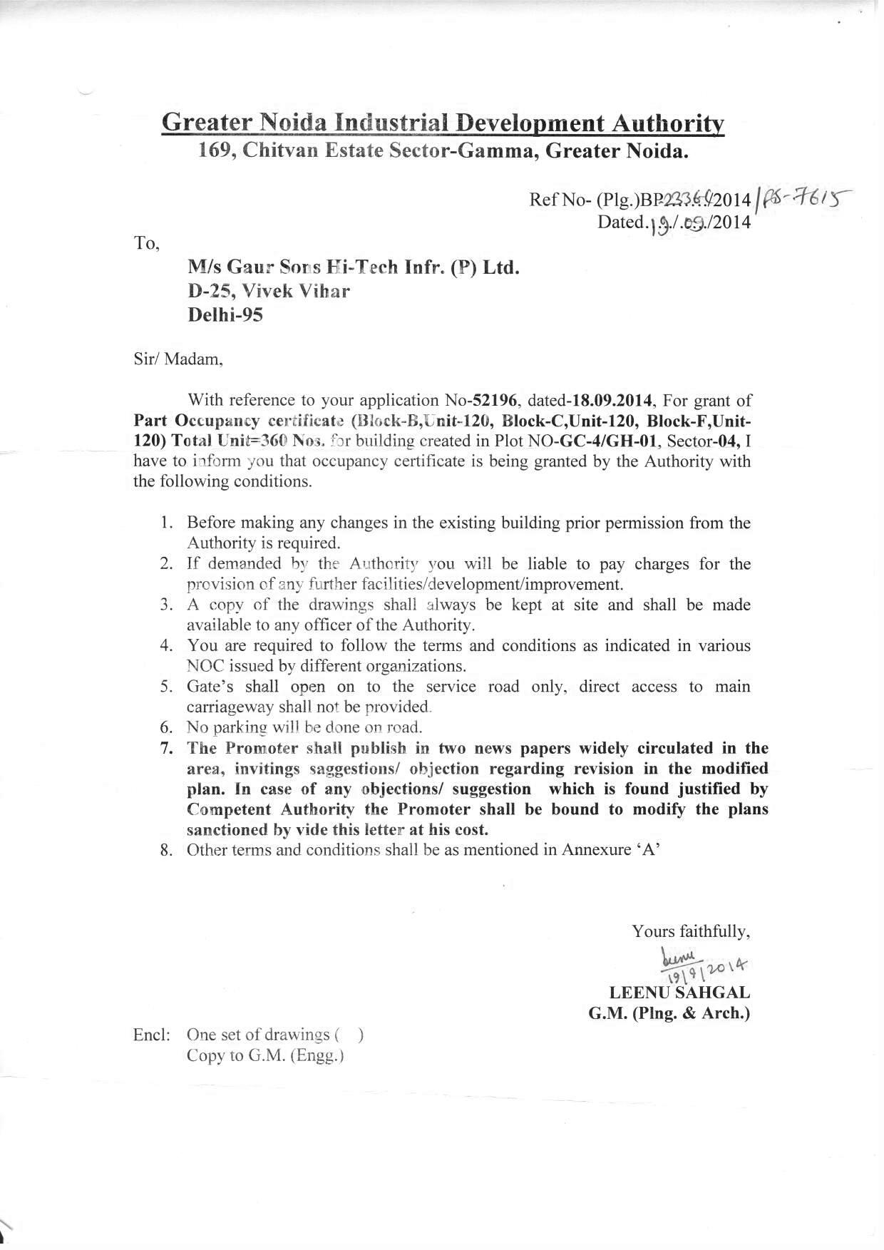 Gaur city gc 4 sector 4 greater noida sanction letter 1852 kb mitanshu Choice Image